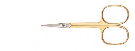 Nippes Škarice za kožicu oko noktiju pozlaćene 9cm 805