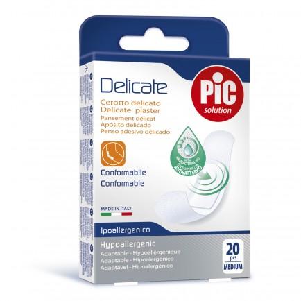 PiC Antibakterijski flaster Delicate Medium 20X