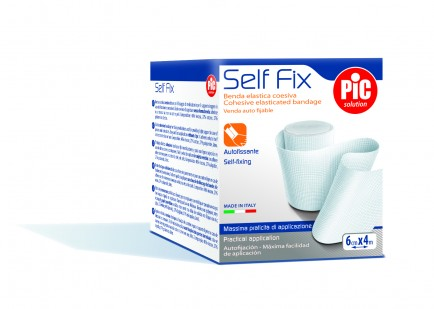 PiC Samoljepljivi elastični zavoj SelfFix 6cmX4m
