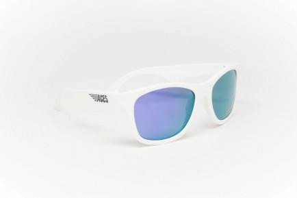 Babiators Sunčane naočale za djecu Ace Navigator Wicked white/Purple lenses 6+ godina ACE-011