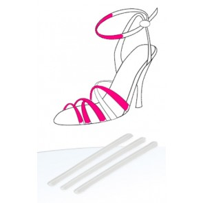 DoTobell Party Gel štitnici za sandale s remenčićima 109S 4x