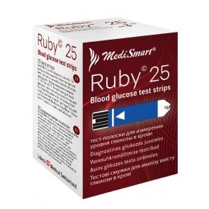 Medismart Test trake za mjerenje glukoze Sapphire 25X