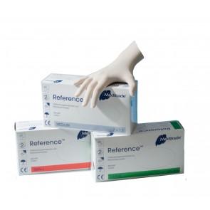 Meditrade Zaštitne lateks rukavice s puderom Reference 100x