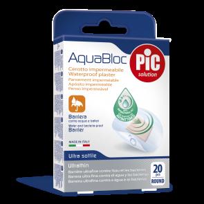 PiC Antibakterijski flaster Aquabloc Okrugli 20X