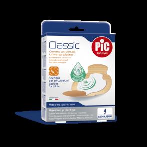 PiC Antibakterijski flaster za pregibe Classic 4X