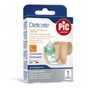 PiC Antibakterijski flaster Delicate za rezanje 8x50cm boja kože