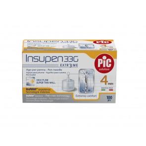 PiC Igle za davanje inzulina G33 4mm 100X