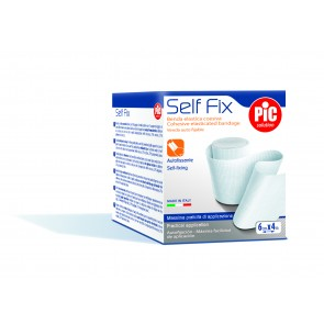 PiC Samoljepljivi elastični zavoj SelfFix 8cmX4m