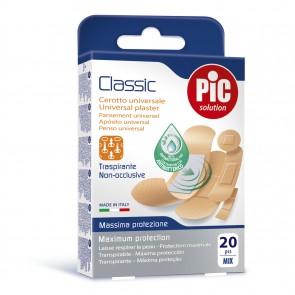 PiC Antibakterijski FLASTER Classic Mix 20X