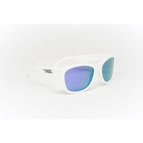 Babiators Sunčane naočale za djecu Ace Navigator Wicked white/Purple lenses 6+ godina ACE-011