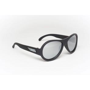 Babiators Sunčane naočale za djecu Ace Aviator Black ops black/Mirrored lenses 6+ godina ACE-001