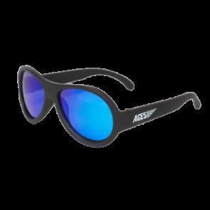 Babiators Sunčane naočale za djecu Polarized Classic Black Ops black/Blue lenses 3-5 godina BAB-050