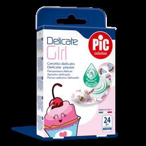 PiC Antibakterijski flaster dječji Delicate Girl 24x