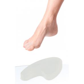 DoTobell Silikonski umetak za nožne prste u obliku srca M+L 8191U 2x