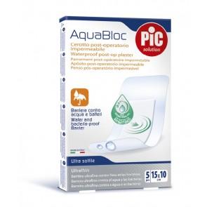 PiC Antibakterijski postoperativni flaster Aquabloc 15X10cm 5X
