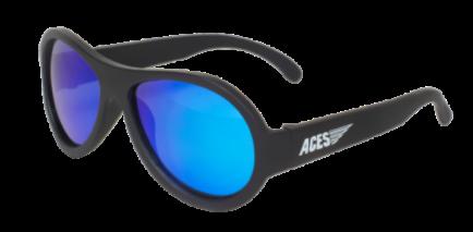 Babiators Sunčane naočale za djecu Polarized Junior Black Ops black/Blue lenses 0-2 godina BAB-049